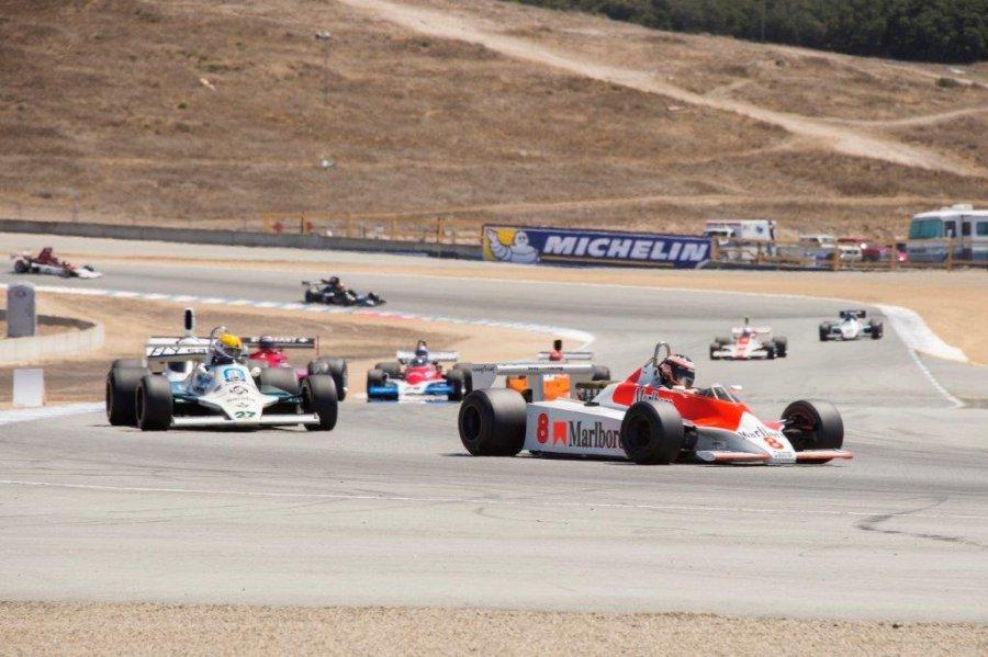 Massive Historic Formula One entry for Rolex Monterey Motorsports ...