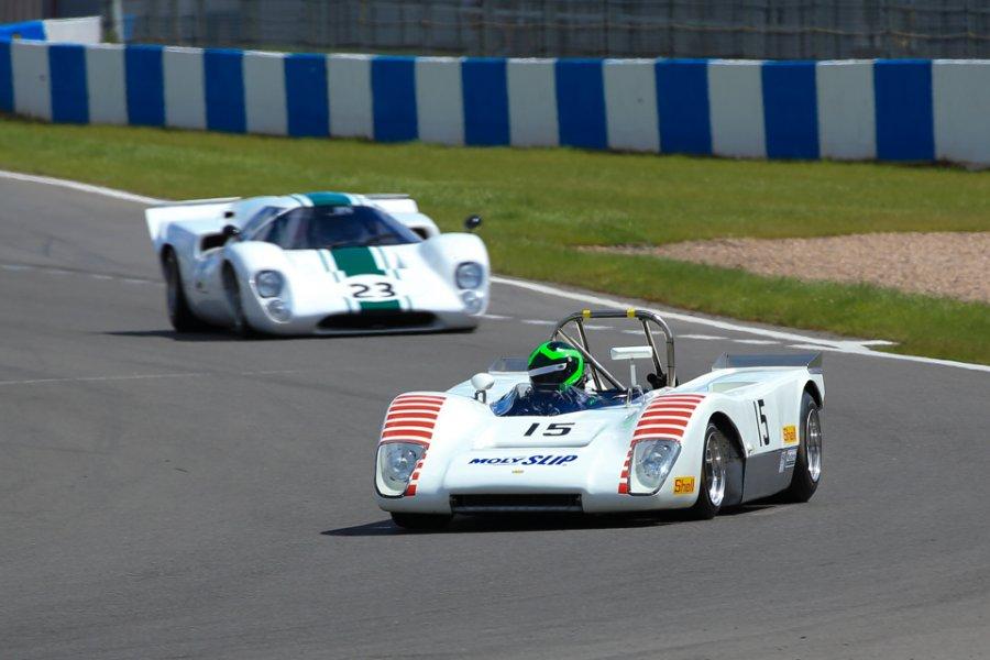 FIA Masters Historic Sports Car honours go to Piercy & Stretton