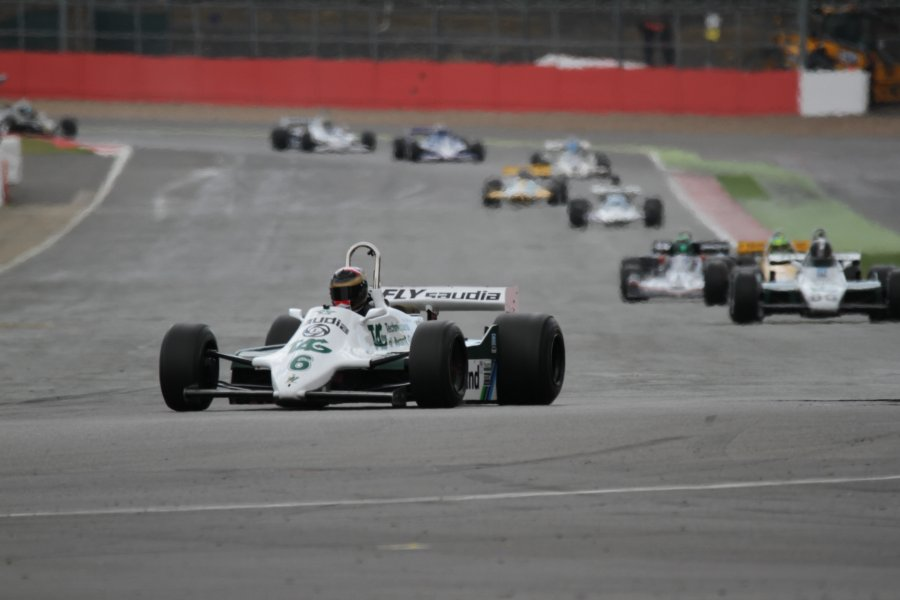 The Stunning Silverstone entry for FIA Masters Historic F1 grid