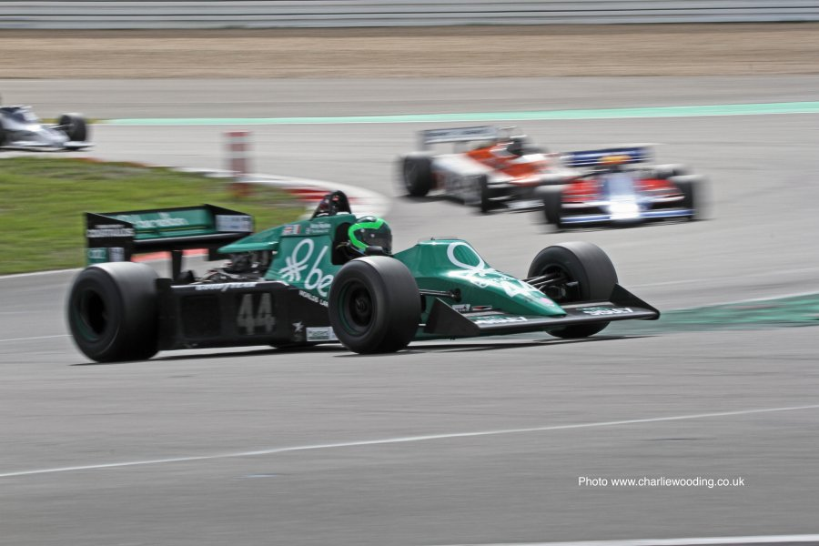 Stretton wins second FIA Masters Historic Formula One race at the ...