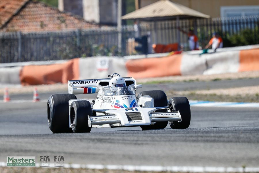 Jason Wright wins first FIA Masters Historic Formula One race at ...